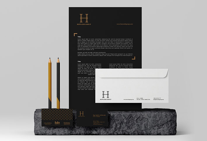 branding howaish group by bullet
